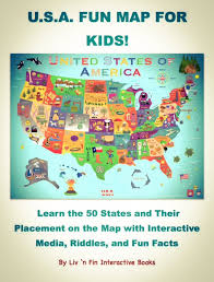 World Map For Kids U S A Fun Map For Kids Ibook Review Sunflower Schoolhouse