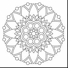 spectacular coloring pages print with free mandala coloring