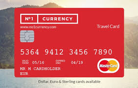 prepaid travel card images Fexco launch no 1 currency prepaid mastercard travel card jpg