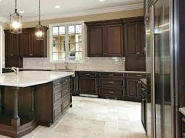 Black Kitchen Cabinets White Subway Tile White Kitchen Cabinets With Dark Grey Island Black Wood Floors