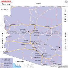 map of az arizona on us map uptowncritters sedona maps and orientation