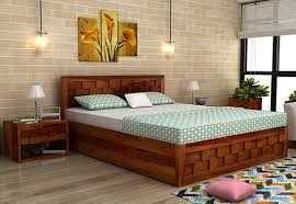 Bedroom Bed Furniture by Buy Double Beds Online Upto 70 Off India Wooden Street