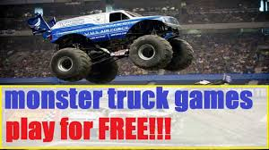 free monster truck racing games carskids tv roller coaster monster truck hill climb racing car