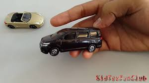 tomica nissan march nissan serena vs porsche boxster tomica toy car kid toy fun
