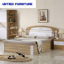 mdf white high gloss furniture bedroom set furniture bed