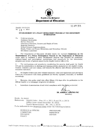 Background Investigator Resume Establishment Of A Policy Development Process At The Department Of Ed U2026