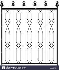 wrought iron gate door fence window grill railing design