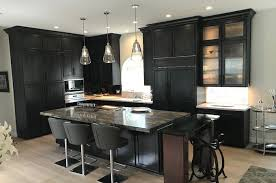 black stain on kitchen cabinets wolf designer cabinet in charcoal stain with black glaze