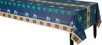 notre dame wrapping paper notre dame fighting party supplies party city