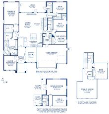 key largo ii a new home floor plan at fishhawk ranch 70 u0027s by