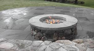 Firepit Top Services Portfolio Christopher Smith Cape Cod Masonry