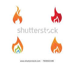 fire flame logo template stock vector 730306372 shutterstock