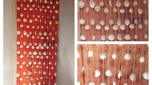 How To Hang Door Beads by How To Make An Awesome Curtain Of Seashells Diy Crafts Tutorial