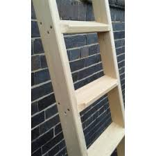 Bespoke And Custom Made Ladders And Stepladders Austin White - Ladders for bunk beds