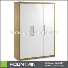 zhejiang factory direct bedroom furniture 3 doors closet modern