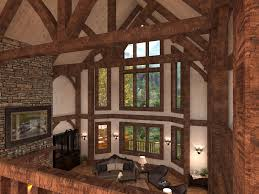 House Plans With Vaulted Great Room by Golden Eagle Log And Timber Homes Exposed Beam Timber Frame