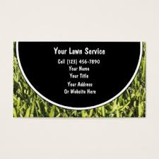 Mowing Business Cards Lawncare Business Cards U0026 Templates Zazzle