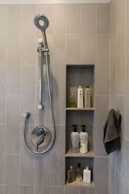 Bathroom Shower Organizers Choosing Shelves Niches And Benches For Your Bathroom Remodel