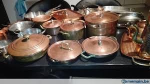 batterie de cuisine en cuivre a vendre batterie de cuisine en cuivre a vendre 2ememain be