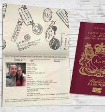 wedding invitations liverpool wedding passport invitations by invitationly stationery