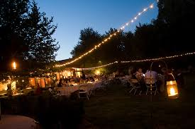 Backyard Wedding Lighting by A Backyard Wedding Q U0026a How Do You Light A Backyard