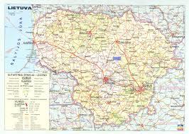 Map Of Lithuania Edward Elewicz Abmc Education