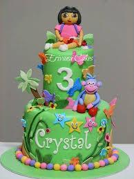dora the explorer cake 6 verjaardagstaart pinterest cake
