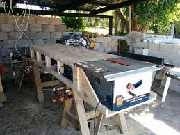 table attractive portable workbenches woodworking pinterest garage