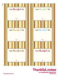 free printable thanksgiving thankful notes place on plates at