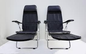 vintage italian maule folding reclining chair garden chair sun chair