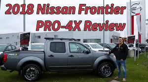 frontier nissan 2018 2018 nissan frontier pro 4x hands on review youtube