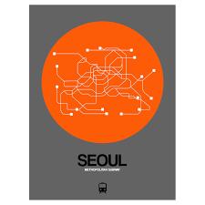 Seoul Subway Map by Seoul Subway Map Black Subway City Maps Touch Of Modern