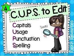 When in the revising stage  we  quot listened quot  for the errors  With CUPS  we  quot look quot  for errors  Get out those magnifying glasses  Oh yeah  Rockin Resources