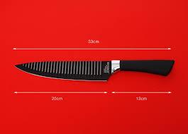 6pcs everrich kitchen knife set chef bread carving utility paring