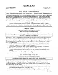 it management resume exles manager attractive itojectogram and portfolio management resume