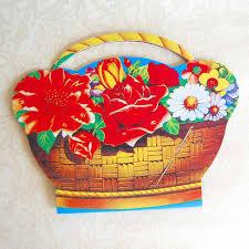 flower basket flower basket needle mille