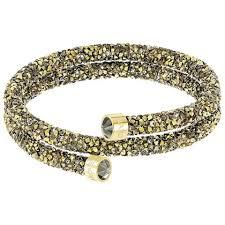 multi colored gold bracelet images Swarovski crystaldust bangle bracelet multicolored gold zhannel jpg