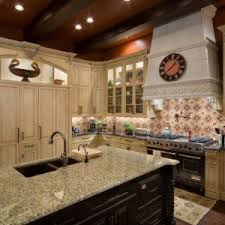 Incredible Kitchen Design Idea With Old World Style For Catchy