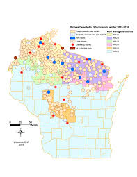 Wmu Map County Supports Reduction In Wolf Population Through State