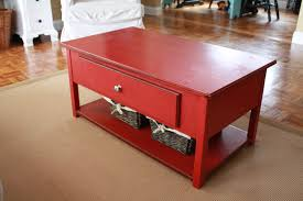 Refinishing Coffee Table Ideas by It U0027s Just Laine The Amazing Red Coffee Table