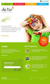 art facebook html cms template 46235