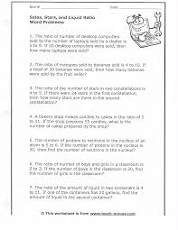Clock Worksheets Grade 1 Charming Party Punch Compare Ratios Students Are Asked To 6th