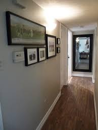 Dark Hallway Ideas by The Happy Homebodies Vote The Red Sofa U0026 Gallery Walls
