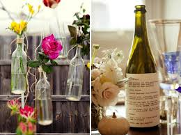 how to decorate a wine bottle for a gift wine bottle wedding decorations
