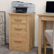 Wood File Cabinets With Lock by Solid Oak Filing Cabinets