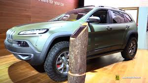 jeep cherokee dakar 2015 jeep cherokee trailhawk mopar customized ext interior