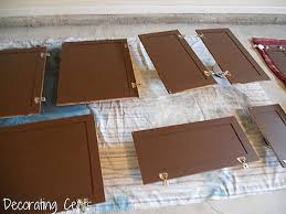 how to paint kitchen cabinets brown remodelaholic sleek chocolate painted cabinets