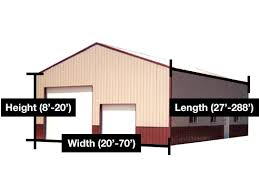 Cost Of Pole Barns Pole Barn Post Frame Estimator At Menards