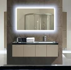 bathroom mirrors with lights behind behind bathroom mirror light