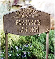 outdoor memorial plaques personalized garden plaques metal plaques wind weather